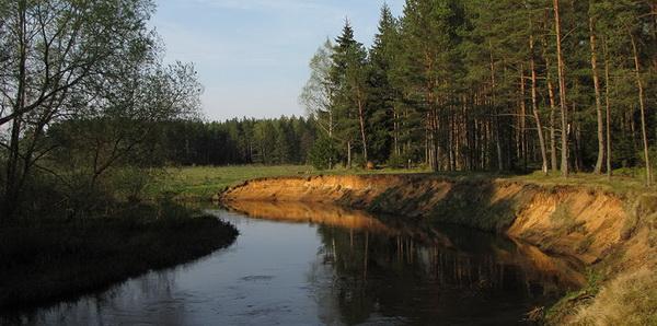 Рыбалка в Вилейском районе на реке Илия