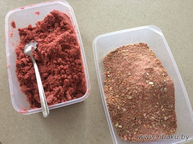 как приготовить прикормку на сазана карпа амура